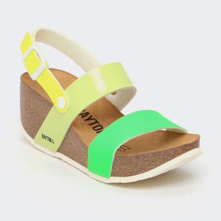 Sandale Selene Vert