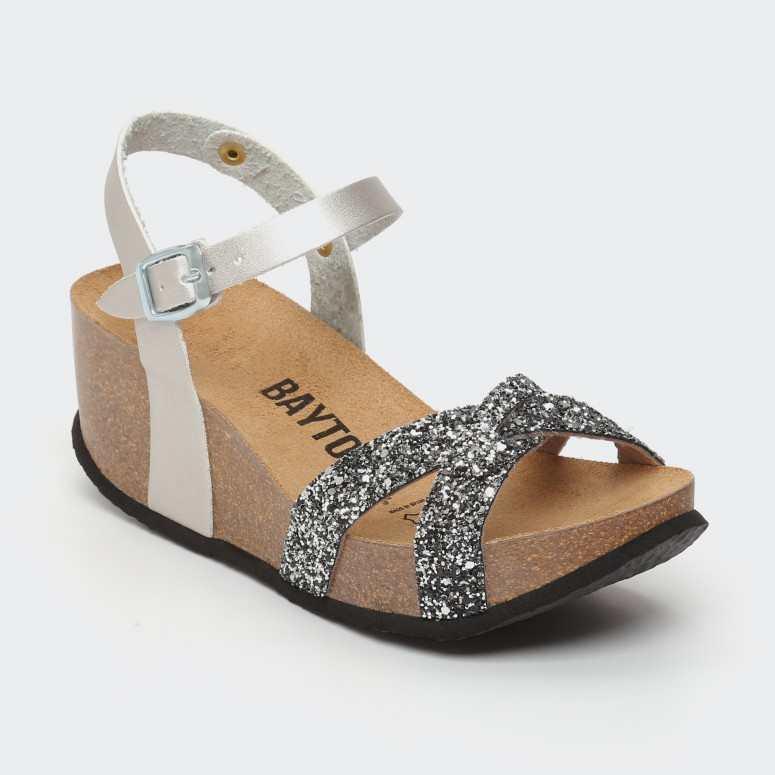 Sandale Venus Argent Glitter