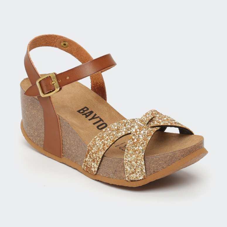 Sandale Venus Camel Glitter