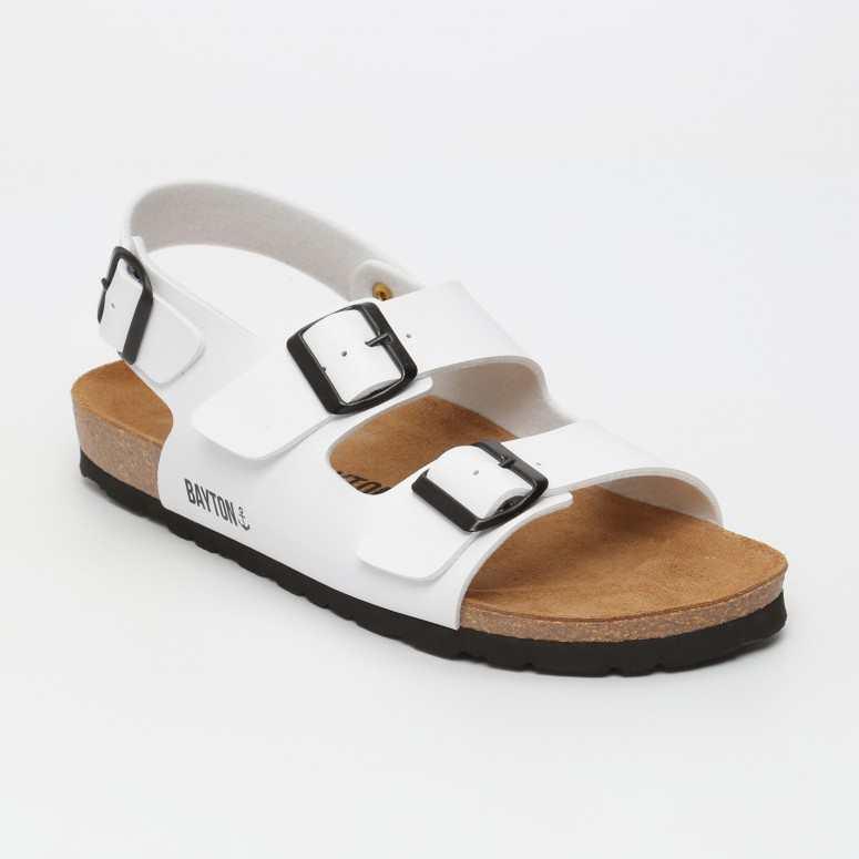 Sandale Achille Blanc
