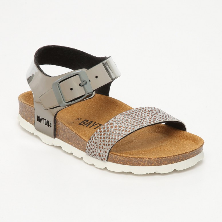 Sandales  Tyche Argent