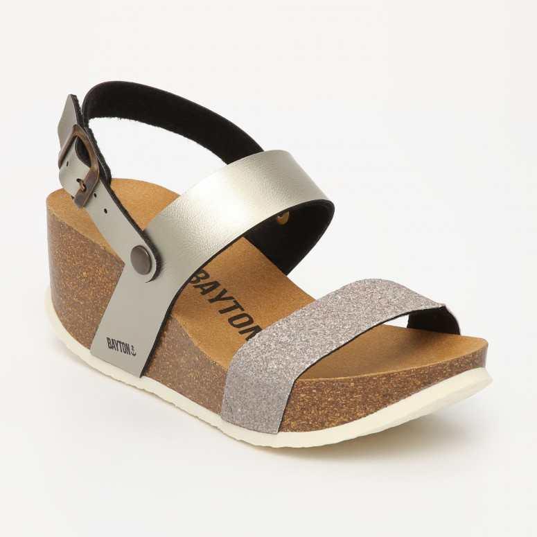 Sandale Selene Gris Glitter
