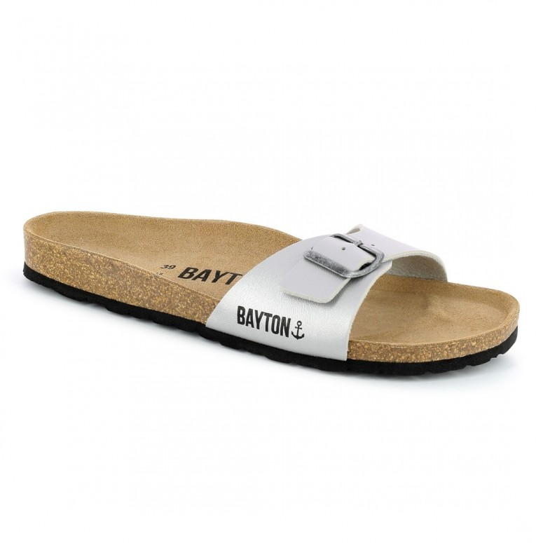 Sandales 1 Bride Zephyr Gris