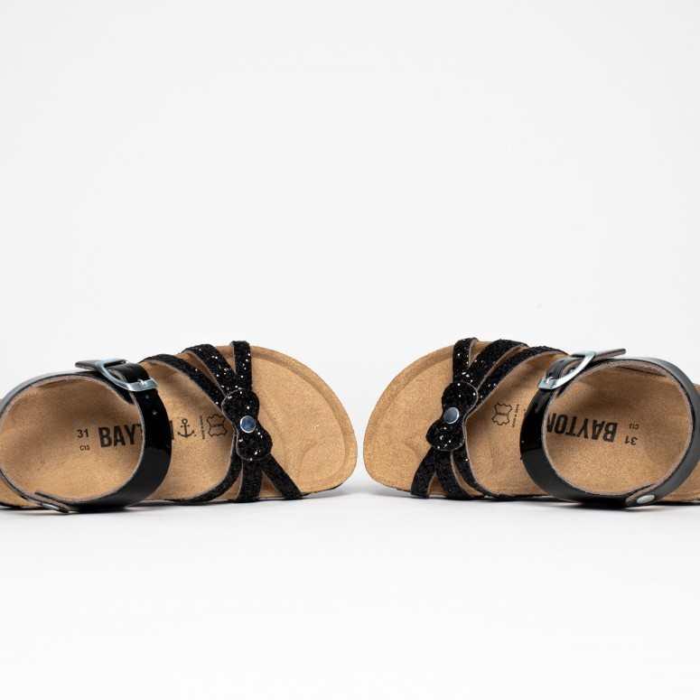 Sandales Eirene Noir et...