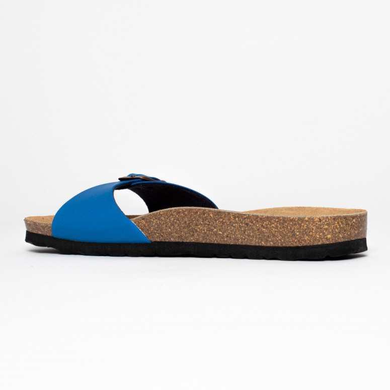 Sandales 1 Bride Zephyr Bleu