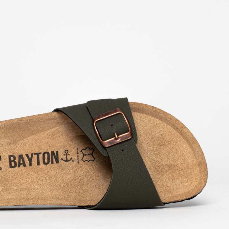 Sandales 1 Bride Zephyr Kaki