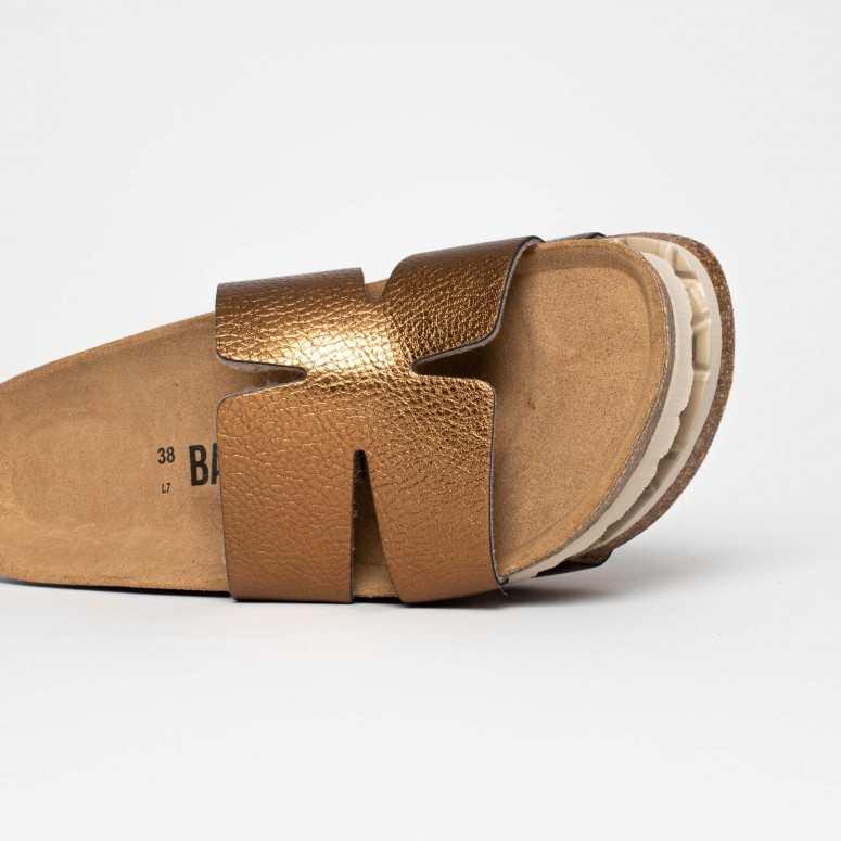 Sandales 1 Bride Djone Bronze