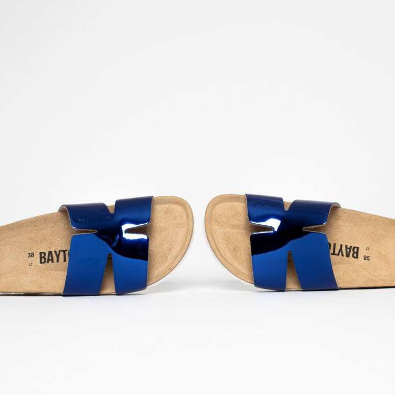 Sandales 1 Bride Djone Bleu