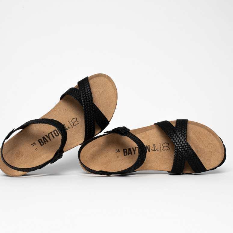 Sandale Canberra Noir