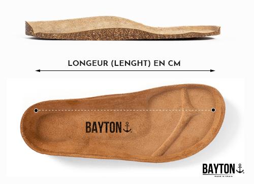 Size Chart Bayton